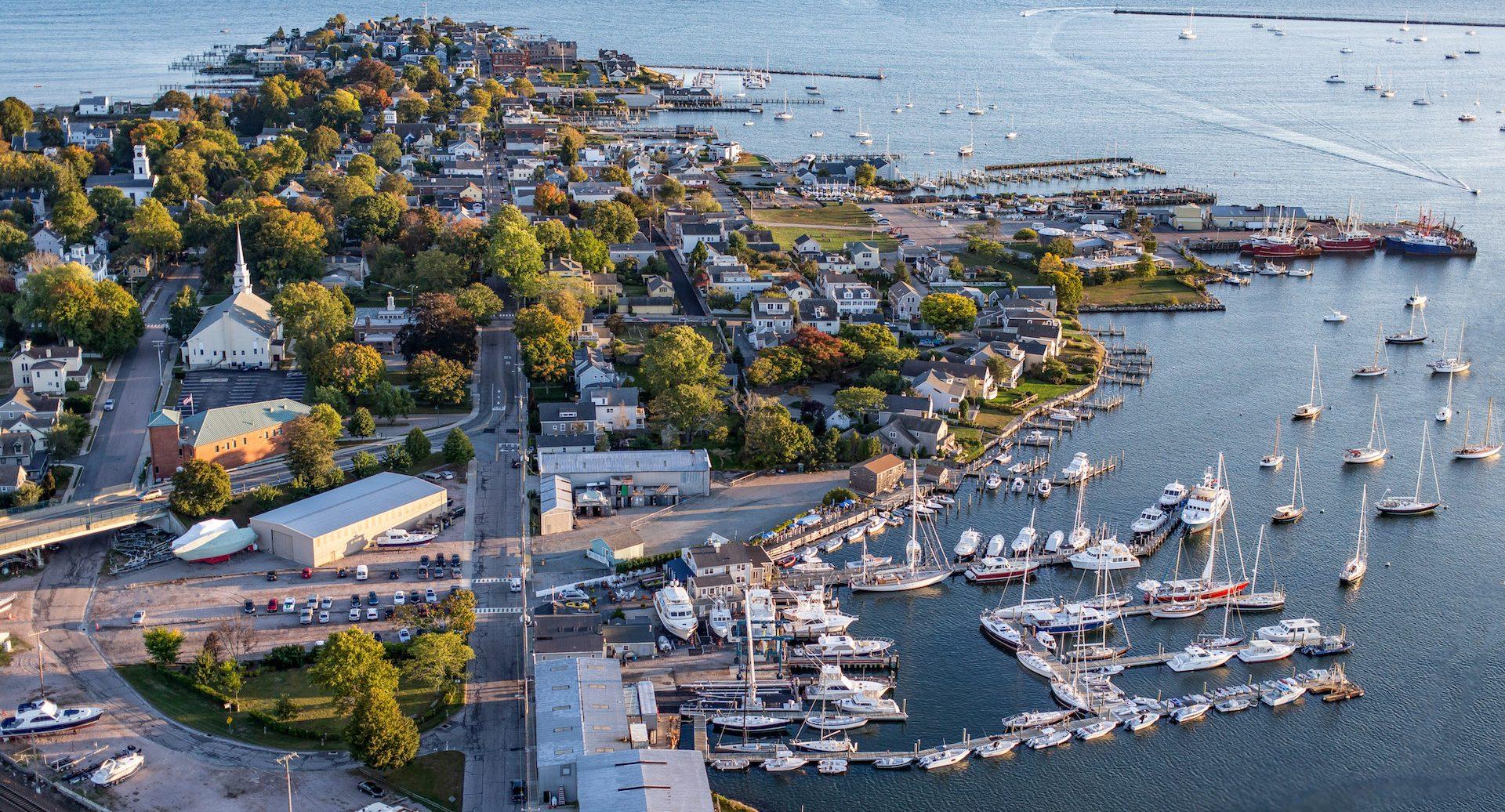 Stonington yacht sales overhead